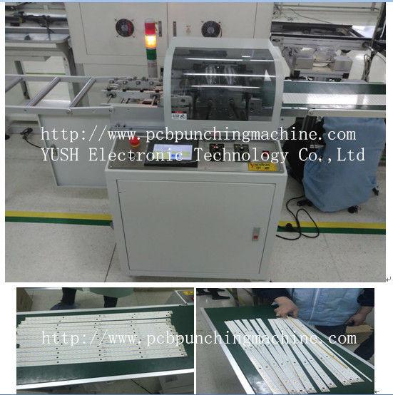 Multi blade Automatic PCB Separator / PCB Depaneling / LED PCB Cutter Machine YSVJ-650
