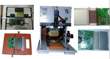 Đầu nóng Hot Bar Soldering Machine với Linear Guideway / LCD hiển thị